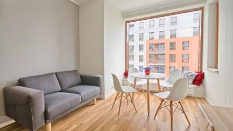 Apartament 37m2 – Gdańsk Wrzeszcz Garnizon