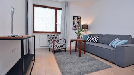 Apartament 38m2 – Gdańsk Wrzeszcz Garnizon