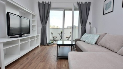 Apartment 41m2 Gdansk Przymorze Albatross Towers