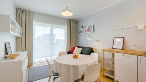 Apartament 31 m2 Gdańsk Przymorze Albatross Towers