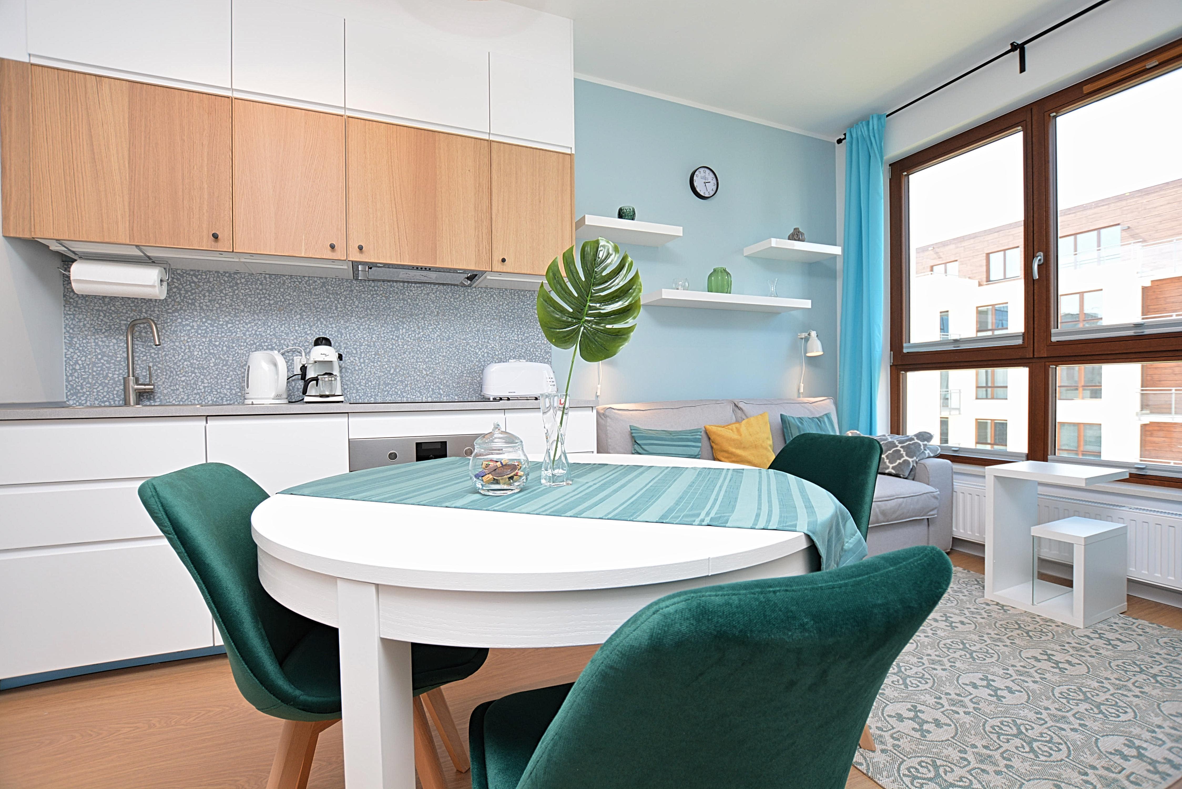 Gdansk Wrzeszcz Garnizon rental apartment