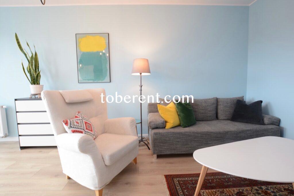 For rent 1 bedroom flat Gdańsk Przymorze Kwartał Uniwersytecki
