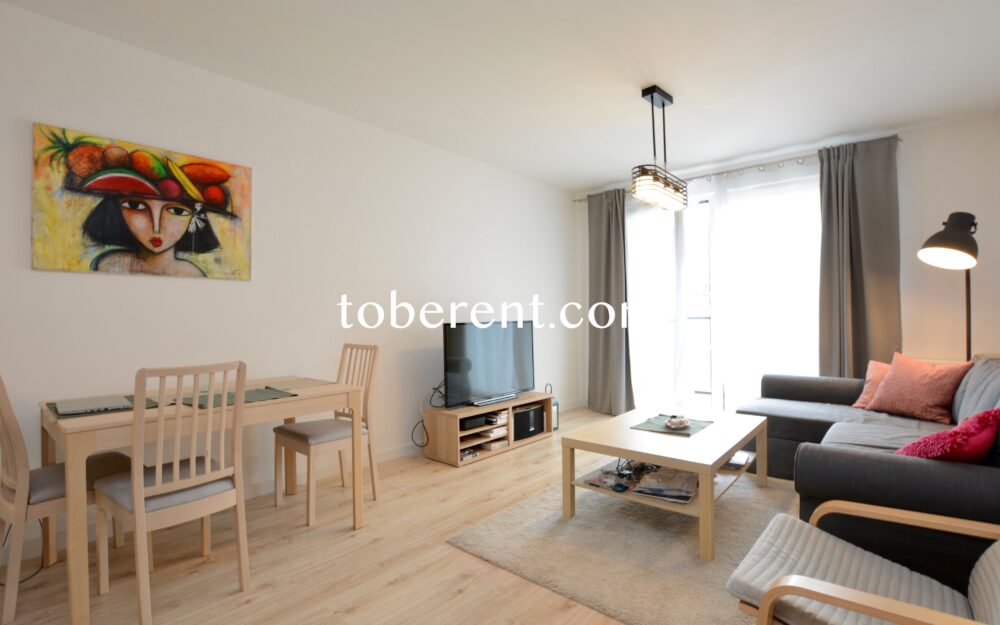 For rent 1 bedroom flat in Gdansk Wrzeszcz Konopnickiej