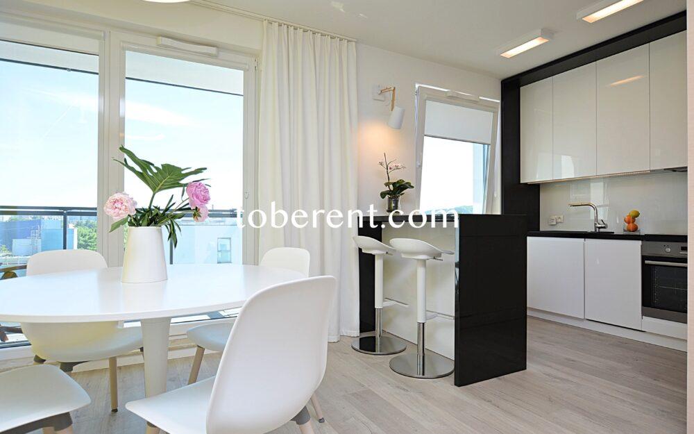 1 bedroom 1 bathroom for rent in Gdansk Przymorze