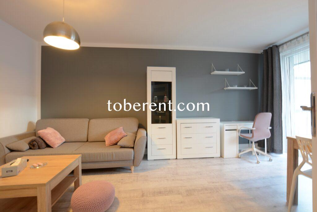 1 bedroom 1 bathroom flat for rent in Gdansk Zaspa City Park