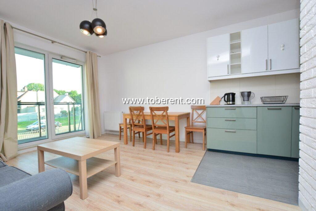 2 bedroom 1 bathroom flat for rent in Gdansk Przymorze Kwartal Uniwersytecki